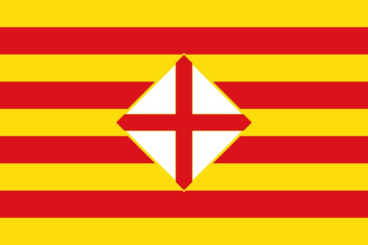Флаг провинции Барселона (Barcelona)