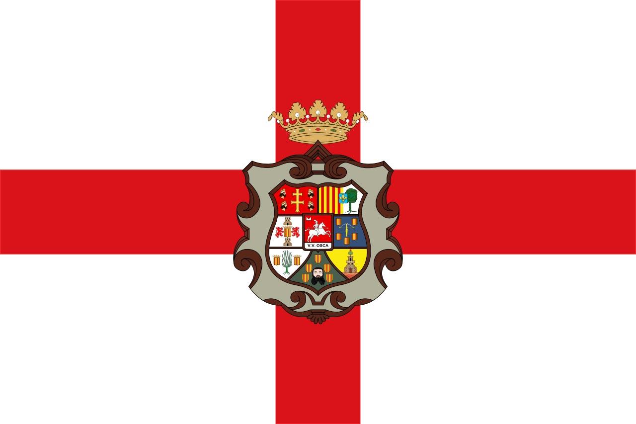 Флаг провинции Уэска (Huesca)