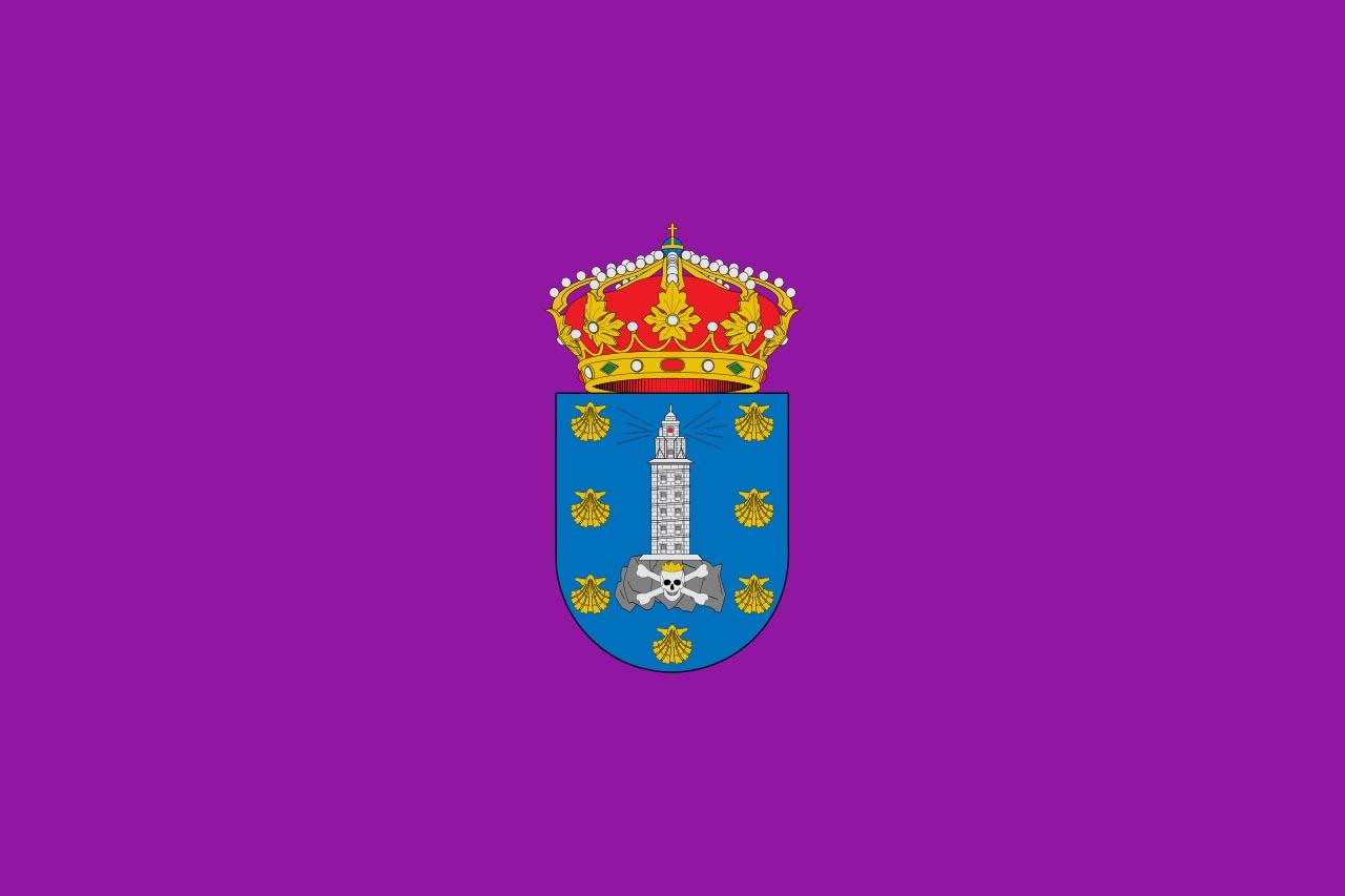 Флаг провинции Ла-Корунья (La Coruña)