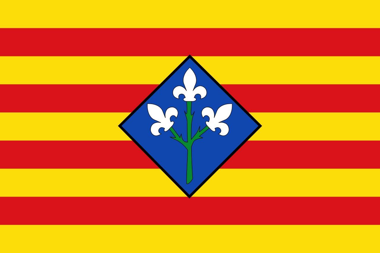 Флаг провинции Льейда (Lérida)