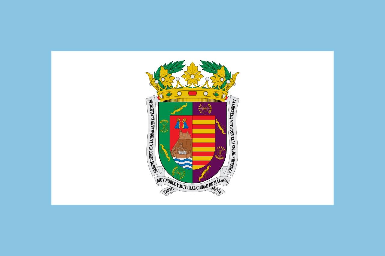 Флаг провинции Малага (Málaga)