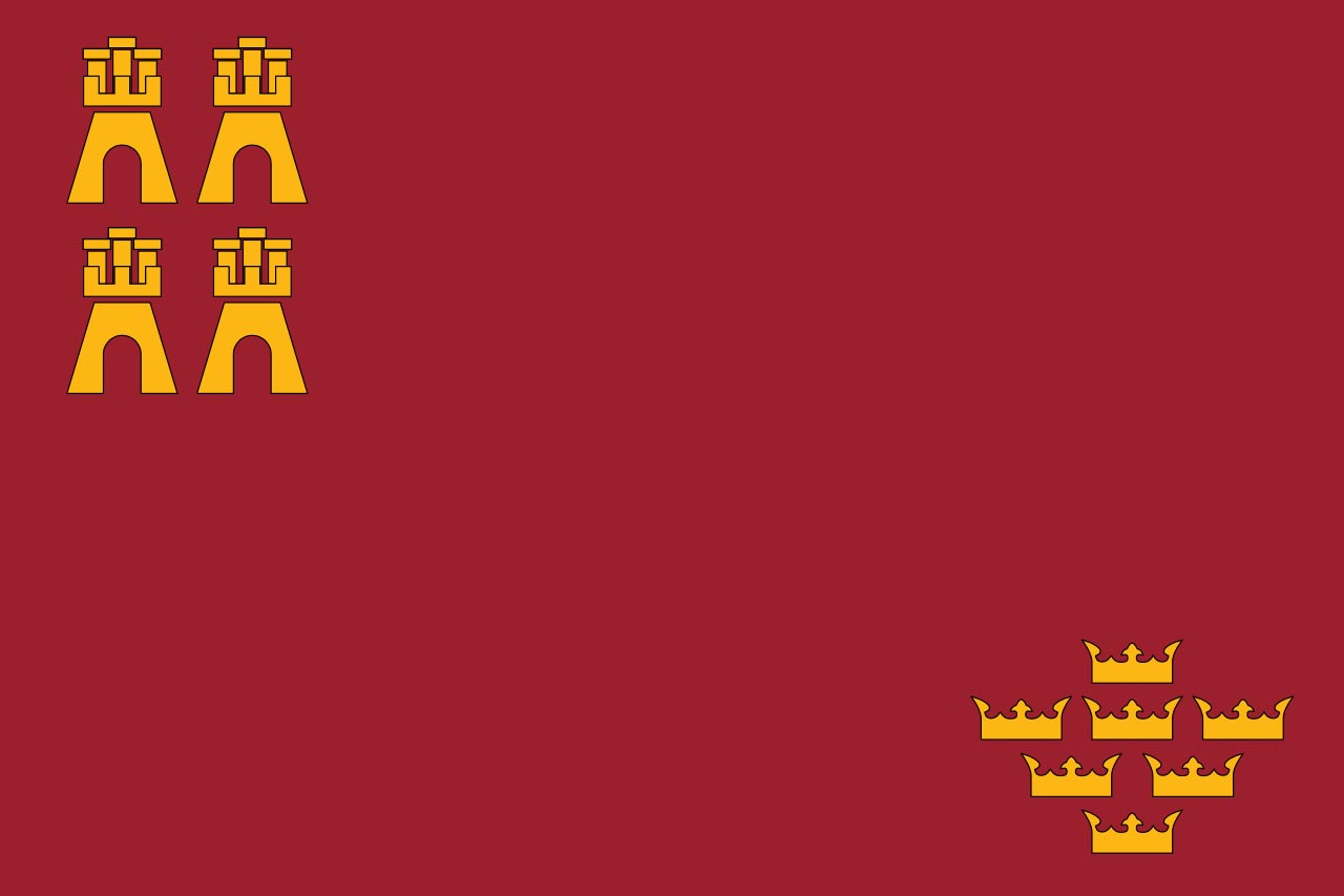 Флаг провинции Мурсия (Murcia)