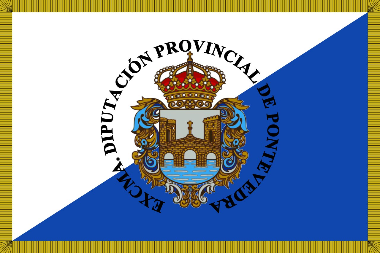 Флаг провинции Понтеведра (Pontevedra)
