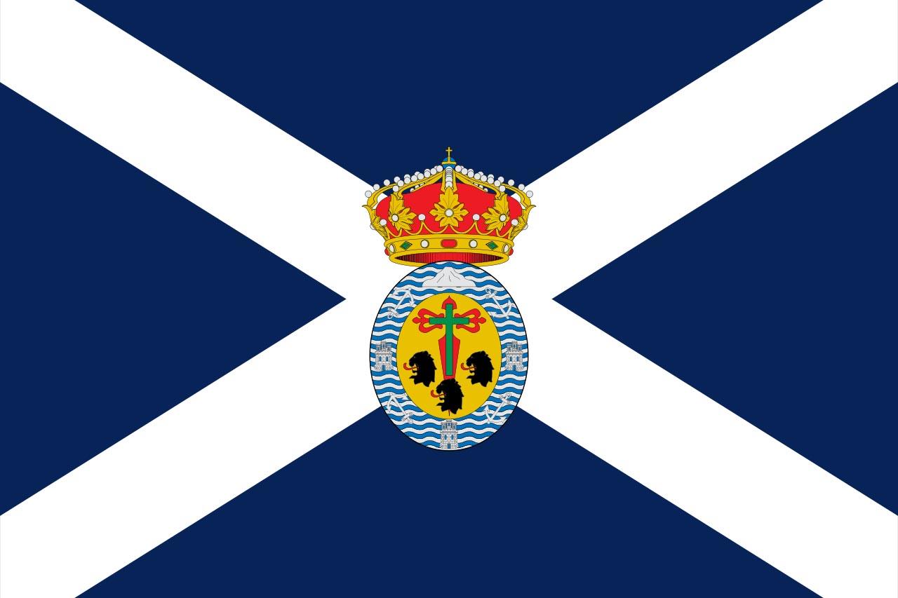 Флаг провинции Санта-Крус-де-Тенерифе  (Santa Cruz de Tenerife)