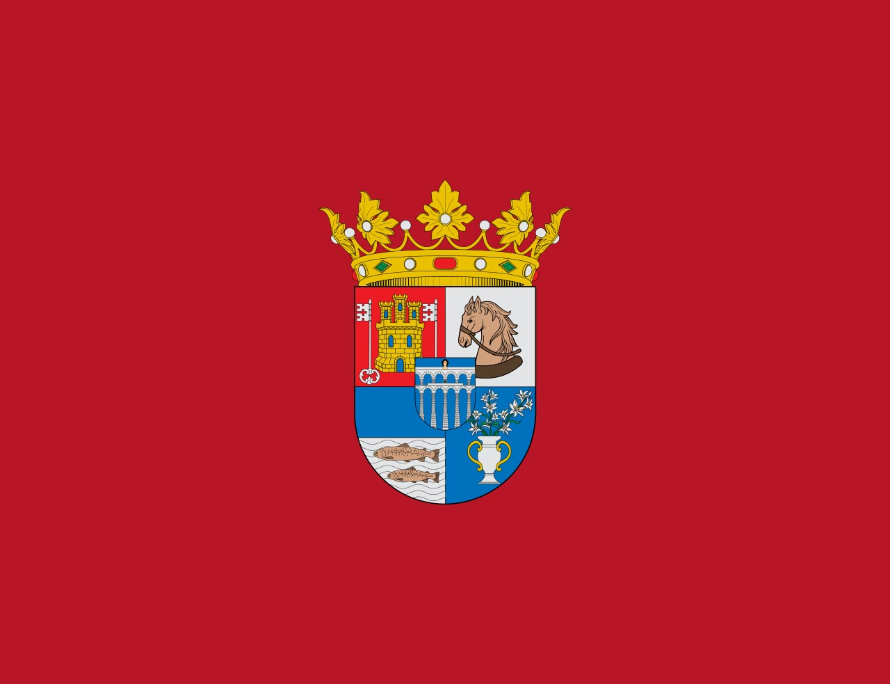 Флаг провинции Сеговия (Segovia)