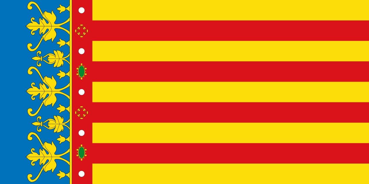Флаг провинции Валенсия (Valencia)