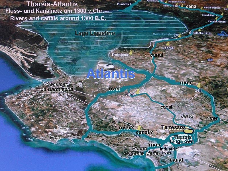 Территория Тартесса в древности