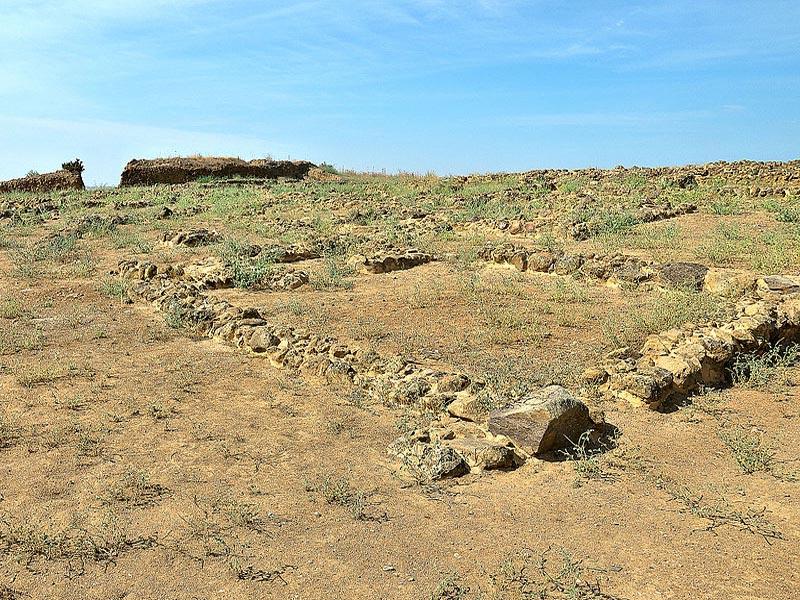 Останки стен поселений Тартесса