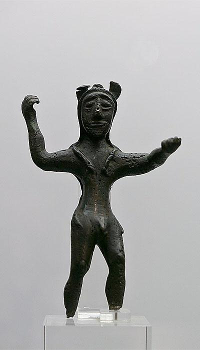 Статуэтка финикийского  божества - Мелькарта