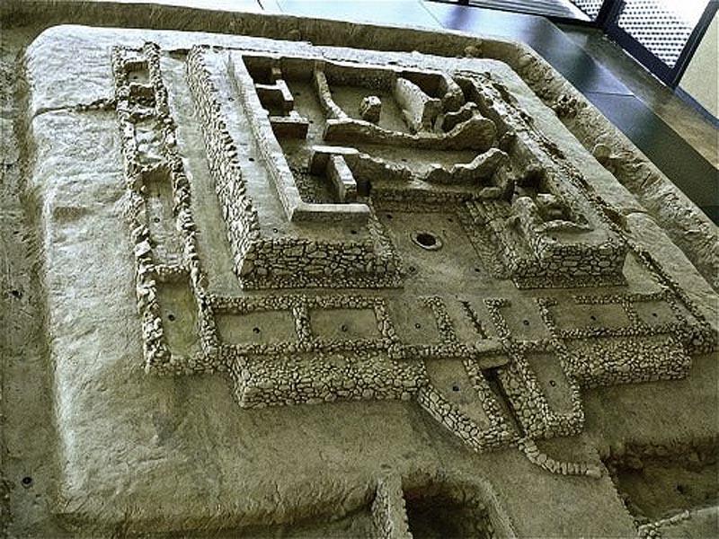 Модель Канчо Роано, Саламеа де ла Серена - поселения Тартесса