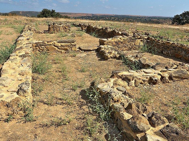 Останки поселения Техада ла Вьеха в Уэльве
