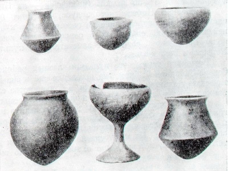 Посуда из Эль-Аргара.