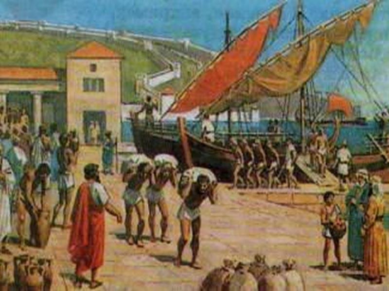 �стория Древней �спании (VIII - VII в.в. до н.э.). Финикийская колонизация