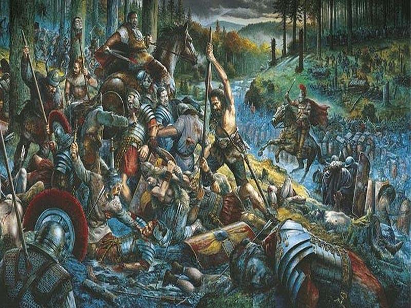 �беры II в.в. до н.э. против римлян