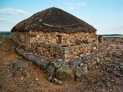 Хижина кельтиберов III в. до н.э. (реконструкция)