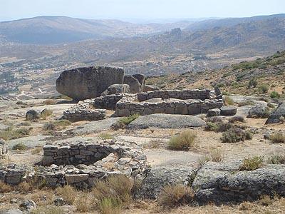 Останки поселения веттонов II в. до н.э. в Кастро-де-Улака