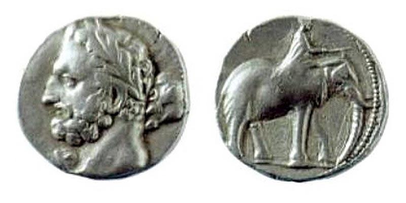 Монеты Баркидской державы III в. до н.э.