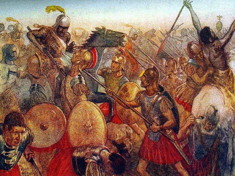�спания во Второй Пунической войне (218 - 201 г.г. до н.э.)