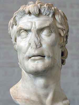 Луций Корнелий Сулла - скульптурный портрет I в. до н. э. — II в. н. э.