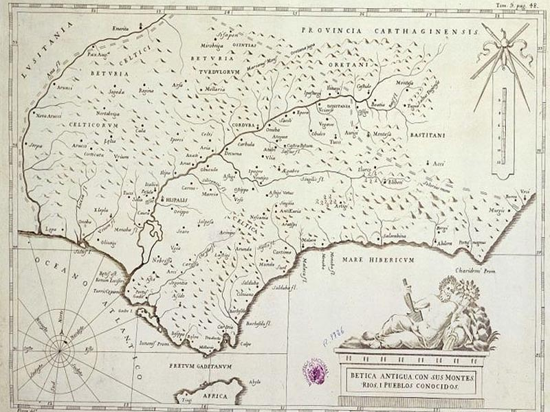 �спанская провинция Бетика в I в. н.э.