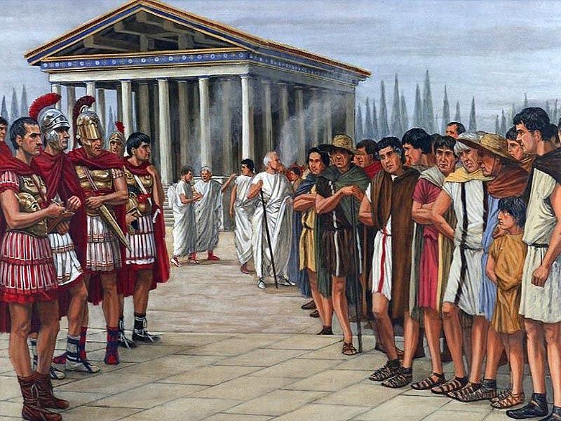 �спания в первой половине II века