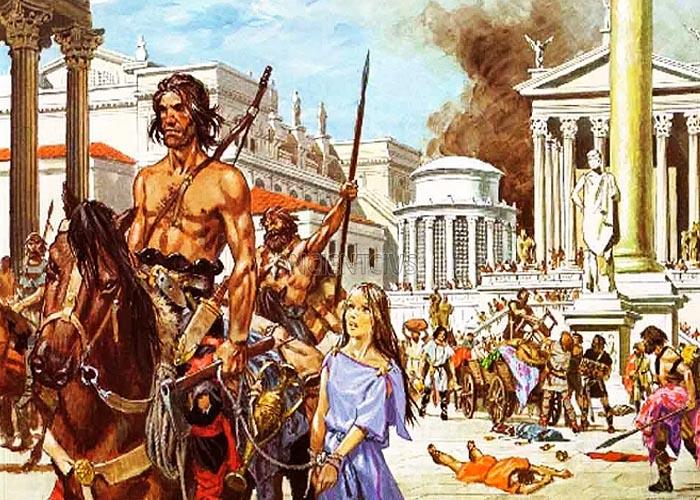 Нашествие варваров на �спанию в III в.