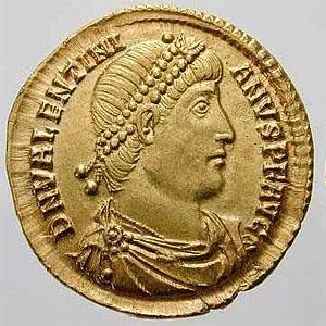 Валентиниан I — римский император 364 - 375 г.г.