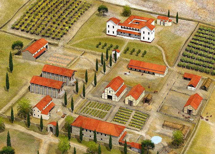 �спанские латифундии IV века