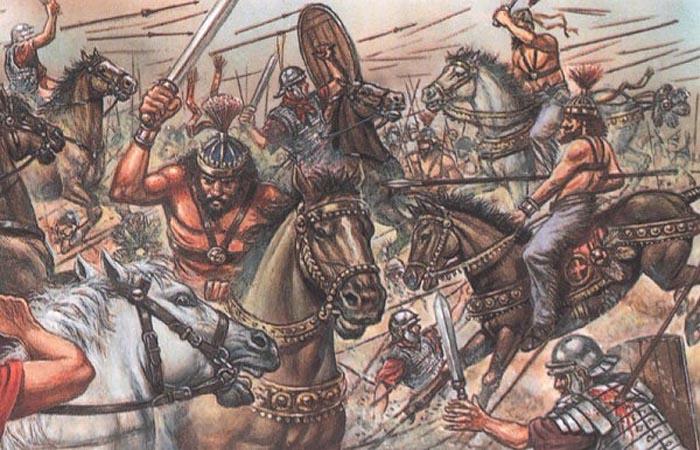 Вторжение варварских племен в �спанию в V веке
