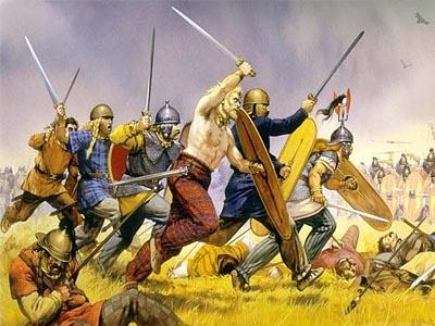 Противостояние варварских племен и римской армии в �спании