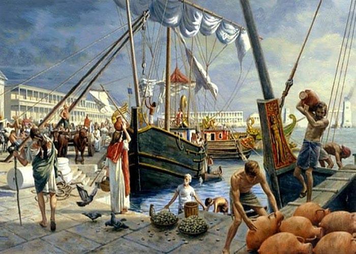 Торгово-экономический кризис в �спании во второй половине V века