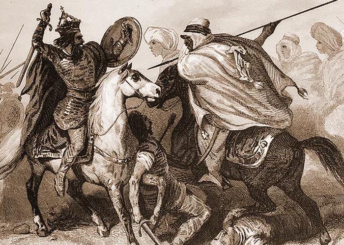 Поединок Тарика и короля Родриго