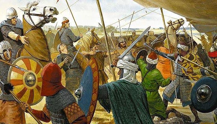 Кордовский халифат против �мперии Каролингов