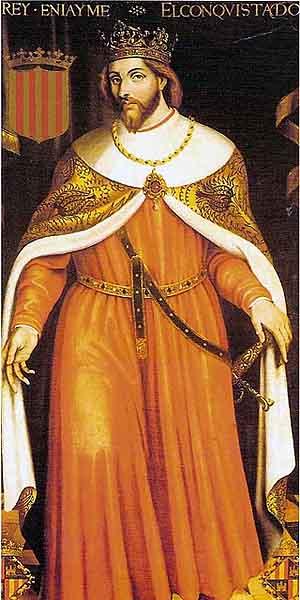 Хайме I Завоеватель - король Арагона 1213 - 1276 г.г.