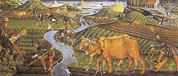 Сельское хозяйство и положение крестьянства в �спании в XIV веке