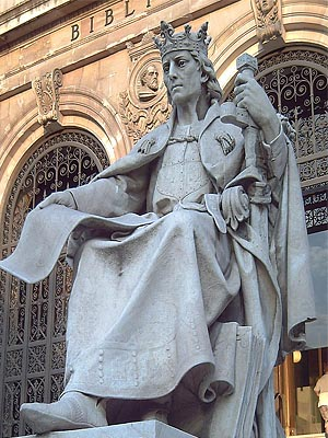 Альфонсо Х Мудрый - король Кастилии и Леона в 1252 — 1284 г.г.