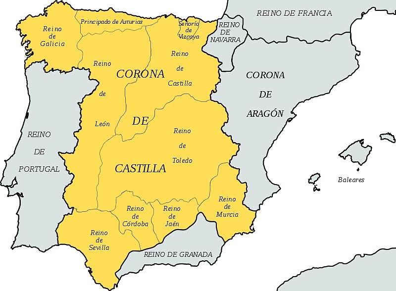Королевство Кастилия и Леон к концу XIV в.