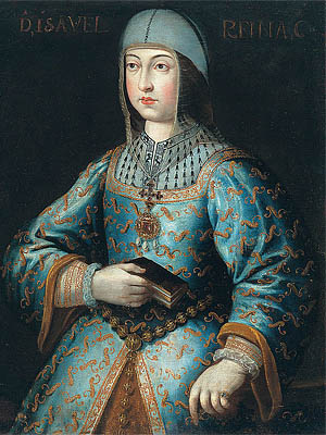 �забелла I Кастильская - королева Кастилии и Леона 1474 - 1504 г.г.