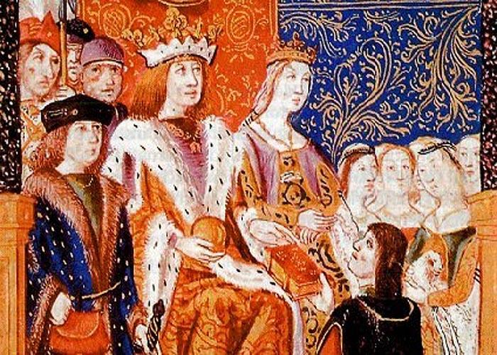 Король Фердинанд II Арагонский и королева �забелла I Кастильская