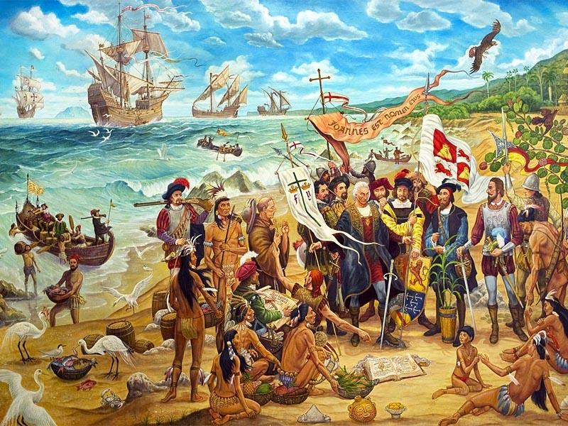 Колонизация Америки  �спанией в XVI веке