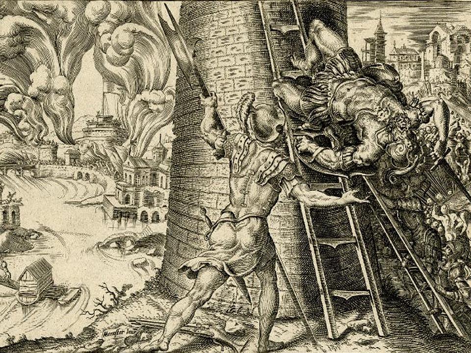Разграбление Рима (Martin van Heemskerck, 1527 г.)