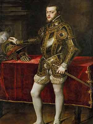 Филипп II - король �спании в 1556 — 1598 г.г.