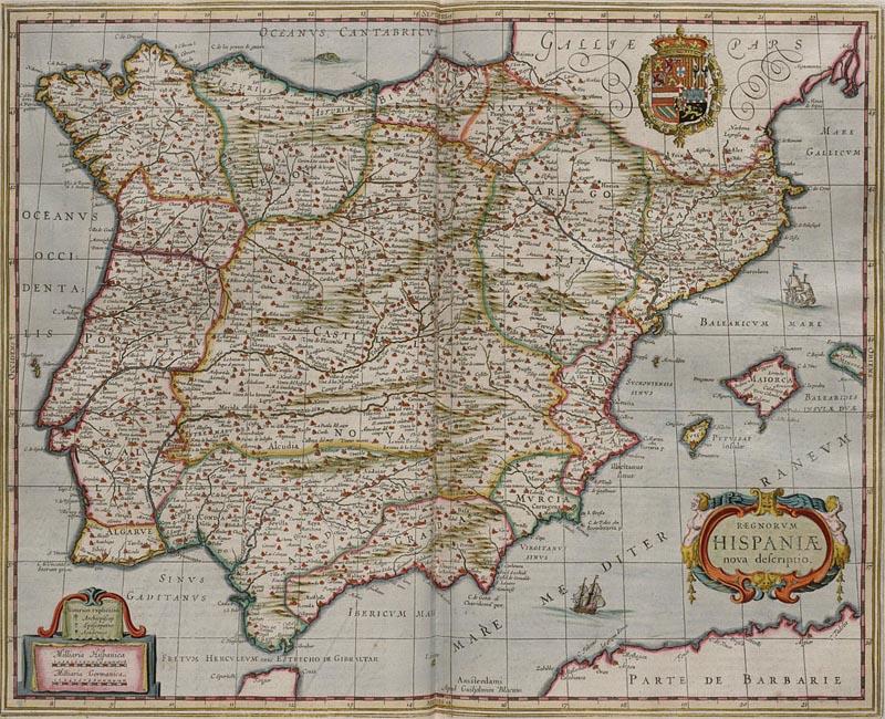 �спания и Португалия в 1658 г.