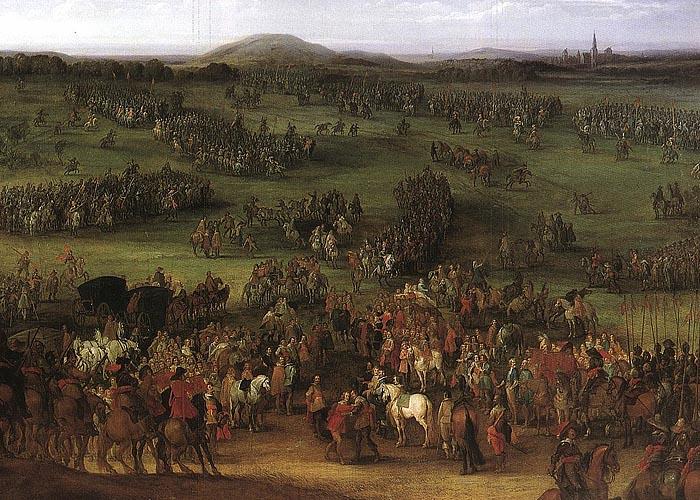 Тридцатилетняя война (1618 - 1648 г.г.). Битва при Нердлингене