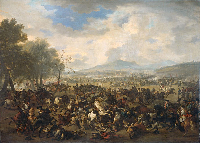 Война за испанское наследство (1701 - 1714 г.г.). Битва при Рамильи