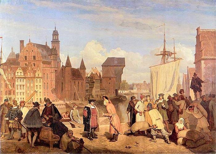Торговля в �спании в XVIII веке
