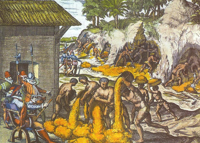 Колониальная система �спании в XVIII веке