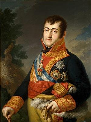 Фердинанд VII - король �спании  1813 - 1833 г.г.