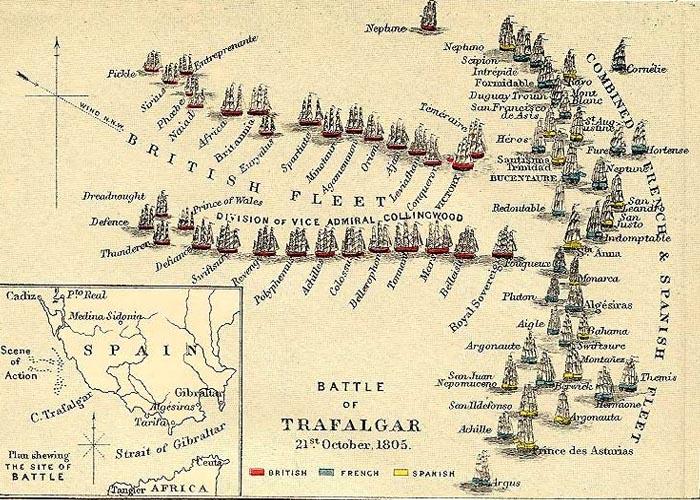 Трафальгарское сражение21 октября 1805 г.