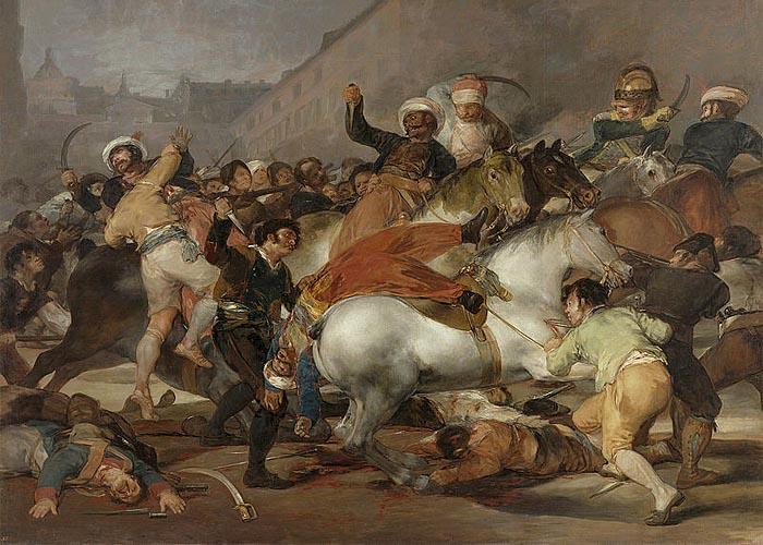 События 2 мая 1808 года в Мадриде
